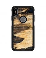 Blue Resin Wood Otterbox Commuter iPhone Skin