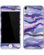 Blue Violet Watercolor Geode Apple iPod Skin