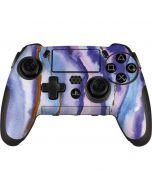 Blue Violet Watercolor Geode PlayStation Scuf Vantage 2 Controller Skin