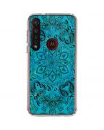 Blue Zen Moto G8 Plus Clear Case