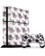 Blush Moth PS4 Console and Controller Bundle Skin