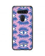 Bold Eyes 2 LG K51/Q51 Clear Case