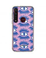 Bold Eyes 2 Moto G8 Plus Clear Case