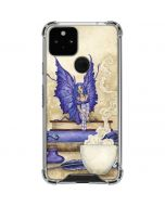 Bookworm Fairy Google Pixel 5 Clear Case