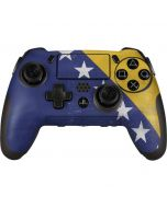 Bosnia and Herzegovina Flag Distressed PlayStation Scuf Vantage 2 Controller Skin