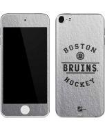 Boston Bruins Black Text Apple iPod Skin