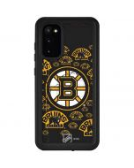 Boston Bruins Blast Galaxy S20 Waterproof Case