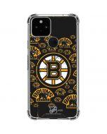 Boston Bruins Blast Google Pixel 5 Clear Case