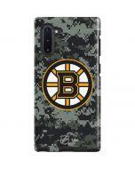 Boston Bruins Camo Galaxy Note 10 Pro Case