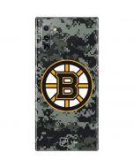 Boston Bruins Camo Galaxy Note 10 Skin