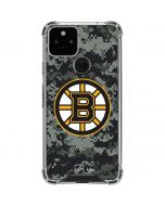 Boston Bruins Camo Google Pixel 5 Clear Case