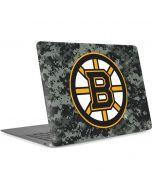 Boston Bruins Camo Apple MacBook Air Skin