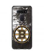 Boston Bruins Frozen LG K51/Q51 Clear Case