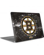Boston Bruins Frozen Apple MacBook Air Skin