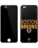 Boston Bruins Lineup Apple iPod Skin