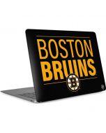 Boston Bruins Lineup Apple MacBook Air Skin