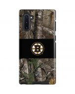 Boston Bruins Realtree Xtra Camo Galaxy Note 10 Pro Case