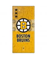 Boston Bruins Vintage Galaxy Note 10 Skin