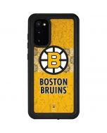Boston Bruins Vintage Galaxy S20 Waterproof Case