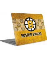 Boston Bruins Vintage Apple MacBook Air Skin