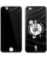 Boston Celtics Black Animal Print Apple iPod Skin