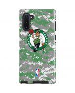 Boston Celtics Digi Camo Galaxy Note 10 Pro Case