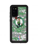 Boston Celtics Digi Camo Galaxy S20 Waterproof Case