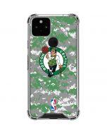 Boston Celtics Digi Camo Google Pixel 5 Clear Case