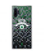 Boston Celtics Digi Galaxy Note 10 Plus Clear Case