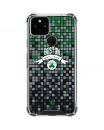 Boston Celtics Digi Google Pixel 5 Clear Case