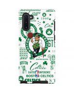 Boston Celtics Historic Blast Galaxy Note 10 Pro Case