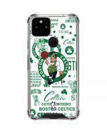 Boston Celtics Historic Blast Google Pixel 5 Clear Case