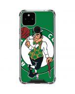 Boston Celtics Large Logo Google Pixel 5 Clear Case