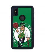 Boston Celtics Large Logo iPhone X Waterproof Case