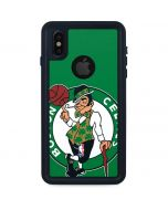 Boston Celtics Large Logo iPhone XS Waterproof Case
