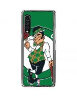 Boston Celtics Large Logo LG Velvet Clear Case
