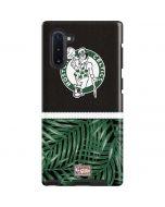 Boston Celtics Retro Palms Galaxy Note 10 Pro Case