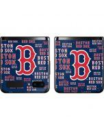 Boston Red Sox - Cap Logo Blast Galaxy Z Flip Skin