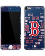 Boston Red Sox - Cap Logo Blast Apple iPod Skin