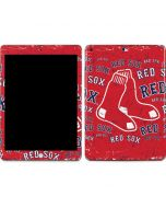 Boston Red Sox - Red Primary Logo Blast Apple iPad Skin