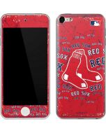 Boston Red Sox - Red Primary Logo Blast Apple iPod Skin