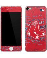 Boston Red Sox - Red Primary Logo Blast Apple iPod Skin