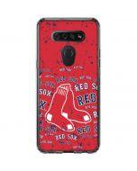Boston Red Sox - Red Primary Logo Blast LG K51/Q51 Clear Case