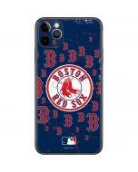 Boston Red Sox - Secondary Logo Blast iPhone 11 Pro Max Skin