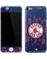 Boston Red Sox - Secondary Logo Blast Apple iPod Skin
