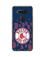 Boston Red Sox - Secondary Logo Blast LG K51/Q51 Clear Case