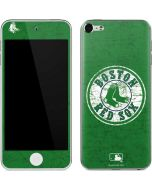 Boston Red Sox- Alternate Solid Distressed Apple iPod Skin