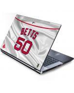 Boston Red Sox Betts #50 Generic Laptop Skin