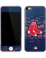 Boston Red Sox Blast Apple iPod Skin