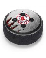 Boston Red Sox Game Ball Amazon Echo Dot Skin